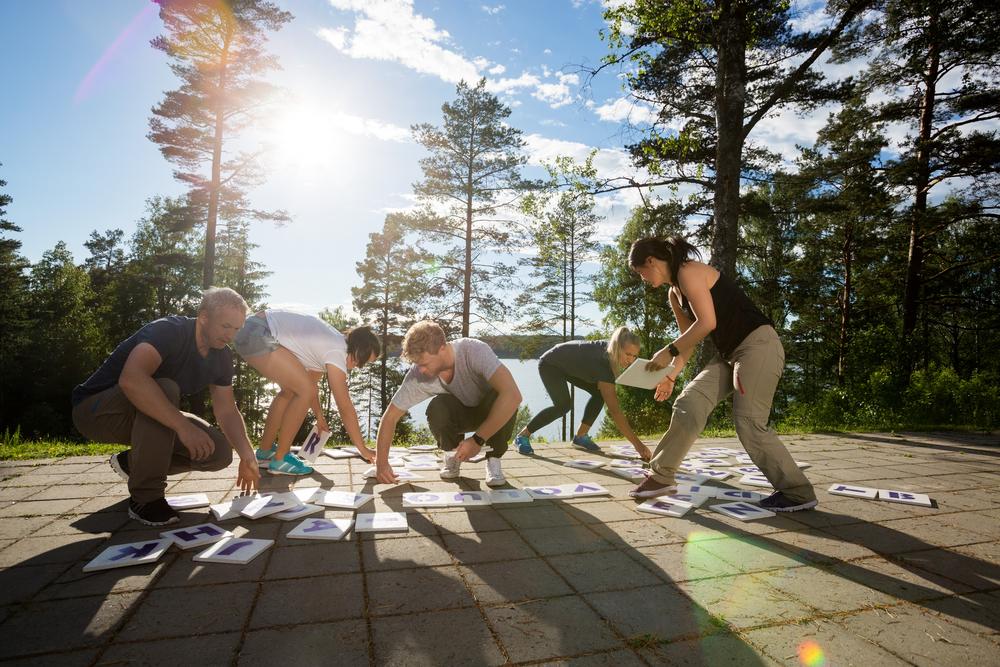 Bedriftsarrangement, teambuilding